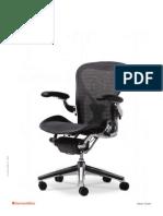 Aeron Chairs Brochure