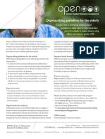 Deprescribing Guidelines Elderly Fact Sheet