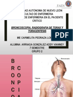 Broncospoia, Rx Torax y Toracocentesis