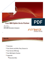 Estuate IBM Optim July 2010