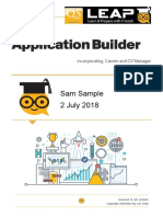 Sam Sample Application Builder