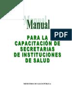 Secretaria administrativa funciones