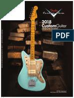 2018 Custom Shop Design Guide