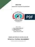 Resume Teori Perdagangan Mata Uang Dalam Perspektif Islam