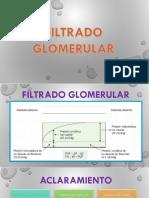 FILTRADO GLOMERULAR