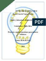 Informe Caja de Conexiones Motores Trifasicos 2016