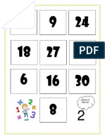 Loteria Tablas Del 2 y 3