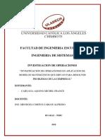 Investigacion Formativa II