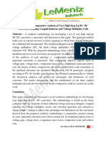 Synthesis and Comparative Analysis of Very High Step-Up DC–DC Converters Adopting Coupled Inductor and Voltage Multiplier Cells