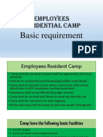 Camp Requirement