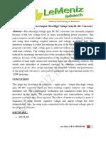 Interleaved-Input Series-Output Ultra High Voltage Gain DC-DC Converter
