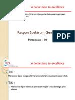 Slide TSP302 DinamikaStr PengRekGempa TSP 302 P10