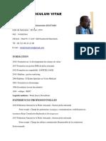 CV CHEIKH- Superviseur