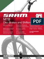 SRAM 95-5018-019-000 Rev e Mtb Disc Brakes and Shifters