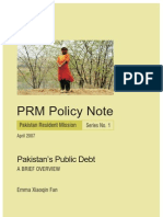 Pakistan Public Debt