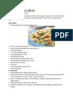 Salmon Fettucine Alfredo