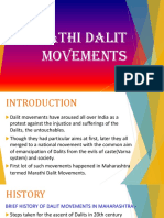Marathi Dalit Movements