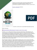 Entrevista Con La Investigadora y Divulgadora de Movimientos Políticos LatinoamericanosMarta Harnecker