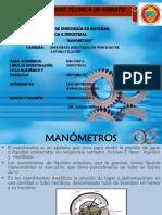 Manómetros industriales (Consulta)