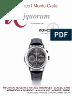 Auction Monaco