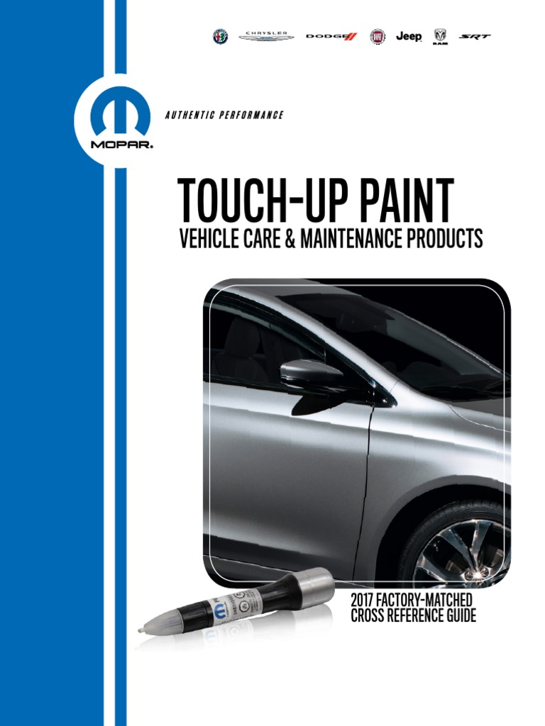 Chrysler Jeep Dodge Ram PAF Touchup Paint Grigio Chiaro//Graphite Metallic Mopar