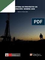 2018 - CARTERA DE PROYECTOS DE EXPLORACION MINERA.pdf