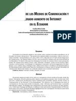 Consumo de medios y aumento de internet en Ecuador.pdf