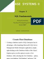 Ch 3 - SQL Fundamentals