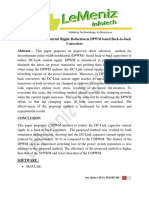 DC-Link Capacitor Current Ripple Reduction in DPWM Based Back-To-back Converters