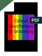 Colour Psychology in Branding