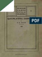 Quadrilaterul dobrogean - Rusciuk, Varna, Şumla, Silistra