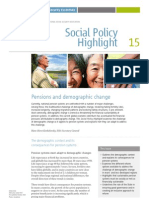 Pensions and demographic change ISSA 2010 English