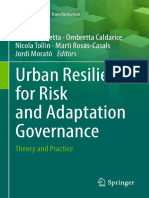 (Resilient Cities) Grazia Brunetta, Ombretta Caldarice, Nicola Tollin, Marti Rosas-Casals, Jordi Morató-Urban Resilience for Risk and Adaptation Governance-Springer International Publishing (2019)