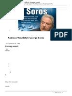 Andreas Von Retyi George Soros