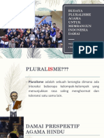 Budaya Pluralisme Agama
