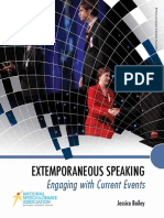 Extemporaneous Speaking Textbook