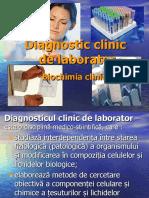 Biochimia clinica 2010, USMF, Introducere