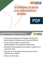 5 Programa de Salud Integral de Adolescentes y Jóvenes