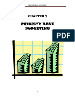 7 Priority Base Budgeting
