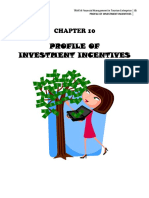 10 Profile of Investment Incentives