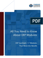 All about ERP modules