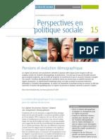 Pensions et évolution démographique ISSA Français 2010