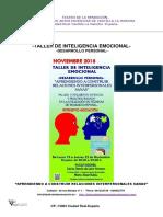 Teatro de La Sensacion Taller de Inteligencia Emocional-noviembre 018