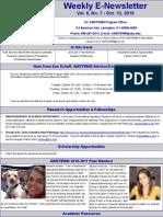 Newsletter 10 13 2010