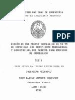 Tesis Prensa Hidraulica