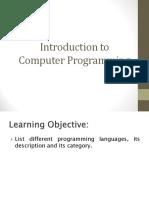 4 Computer Programming