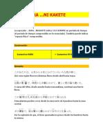 Curso de Japonés Avanzado N3 UNIDAD 3