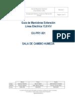 GU-PRY-001 Guía de Maniobras Extensión Línea Eléctrica 13,8Kva Rev.01
