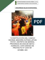 Informe SST OCTUBRE Obra Carretera