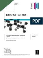Firetest BS en ISO 1182 Grc